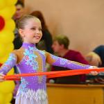 «Маленькие феи» художественной гимнастики учатся побеждать