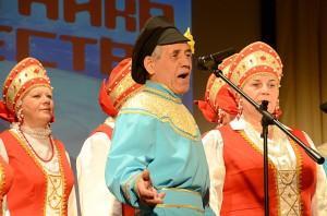 Выступает хор русской народной песни ДК Кольцово «Сибирячка»
