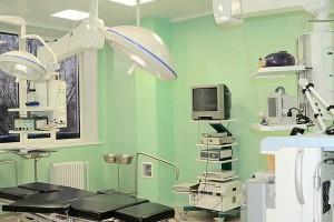 Оборудование операционного блока кольцовской больницы