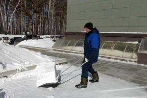 Снег необходимо вывезти до начала активного таяния