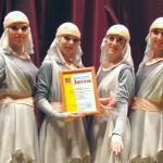 Кольцовские танцовщицы стали победителями «Калейдоскопа ритмов»
