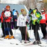 Кольцово отметило 8 марта соревнованиями по горным лыжам и сноуборду