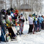 Сноубордисты закрыли зимний сезон в парке Кольцово