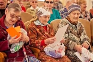 Подарки старикам из пансионата привозят нечасто