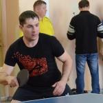 Победителем первенства по настольному теннису стал кольцовец Андрей Нелаев