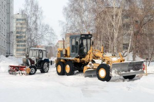 Вскрытие дорог в Кольцово