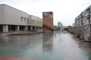 Новое здание Детской школы искусств.