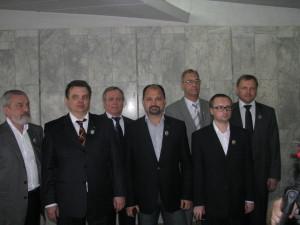 "Представители коллектива компании ""СФМ-Фарм""."
