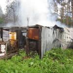 В Новоборске сносят ветхие сараи