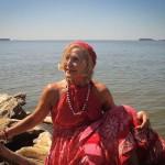 Татьяна Киселева выставила новую коллекцию одежды «бохо»