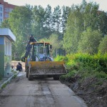 В Кольцово завершаются работы по благоустройству детсада №1