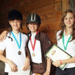 В Кольцово прошли первые конные состязания