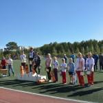 В День Кольцово главные спортивные мероприятия прошли на стадионе