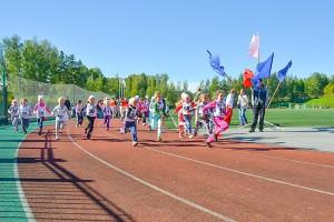 Кольцовцы начинают заниматься спортом уже в детском саду.