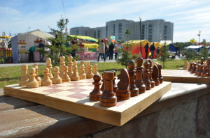 Поздравляем шахматистов с победой!