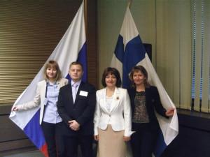 Руководители кольцовских компаний побывали в Финляндии с деловой миссией.