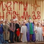 Рождественский спектакль показали в Кольцово