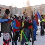 В «Новогодней лыжне-2014» в Кольцово участвовало рекордное число дошколят и школьников