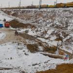 Началось строительство дороги Кольцово—Орловка—Барышево
