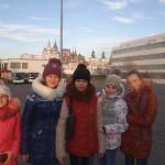 Кольцовская школьница побывала на президентской елке