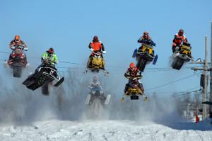 """Снегоходный фестиваль """"Вольный ветер"""" пройдет в Кольцово 25 января."""