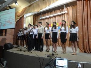 На II конкурсе солдатской песни в лицее-интернате №21.