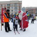 Лыжники Кольцово пробежали Новогоднюю гонку