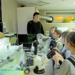 В Кольцово прошли Дни науки для школьников