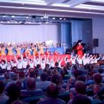 Детская школа искусств Кольцово отблагодарила строителей концертом