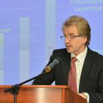 Мэр Кольцово выступил в Высшей школе экономики