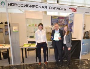 """Директор """"Водорослевых технологий"""" Юрий Рамазанов и специалисты ИЦК."""