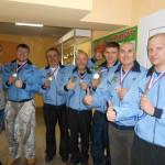 Кольцовские спортсмены стали призерами областной спартакиады