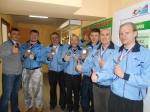 Победители и призеры Зимней спартакиады.