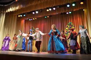 """Спектакль """"Женитьба Бальзаминова"""" стал настоящим событием в культурной жизни Кольцово."""