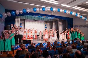 На гала-концерт съехались гости из пяти городских округов.