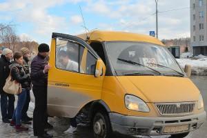Маршрутные такси продолжают ходить по расписанию.