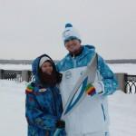 Волонтеры из Кольцово приняли участие в эстафете  Паралимпиады