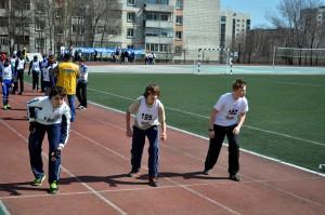 Соревнования по бегу в рамках спортивного многоборья прошли 23 апреля.