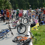 В Кольцово украли семь велосипедов