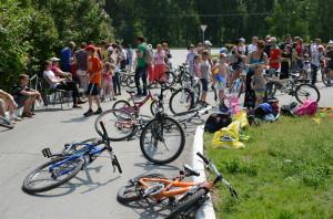 У кольцовских велосипедистов теперь есть свои парковки.