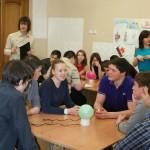 Кольцовские школьники сыграли в брейн-ринг по избирательному праву