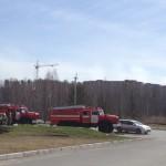 Кольцовские огнеборцы отмечают День пожарной охраны