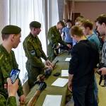 Кольцовские женщины поздравили мужчин с Днем защитника Отечества