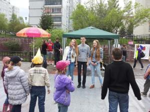 В этом году День добра провели на площадке у ДШИ.