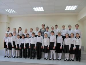 Младший хор ДШИ.