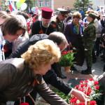 Кольцовцев поздравили с Днем Победы