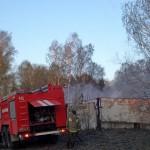 Дым от пожара на «БарышевоАвтоТранс» был виден даже  в Кольцово