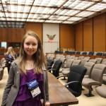 Кольцовская школьница одержала победу на Олимпиаде по английскому языку