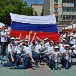 В Кольцово отметили День России