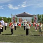 В Кольцово открылась IV областная культурная олимпиада